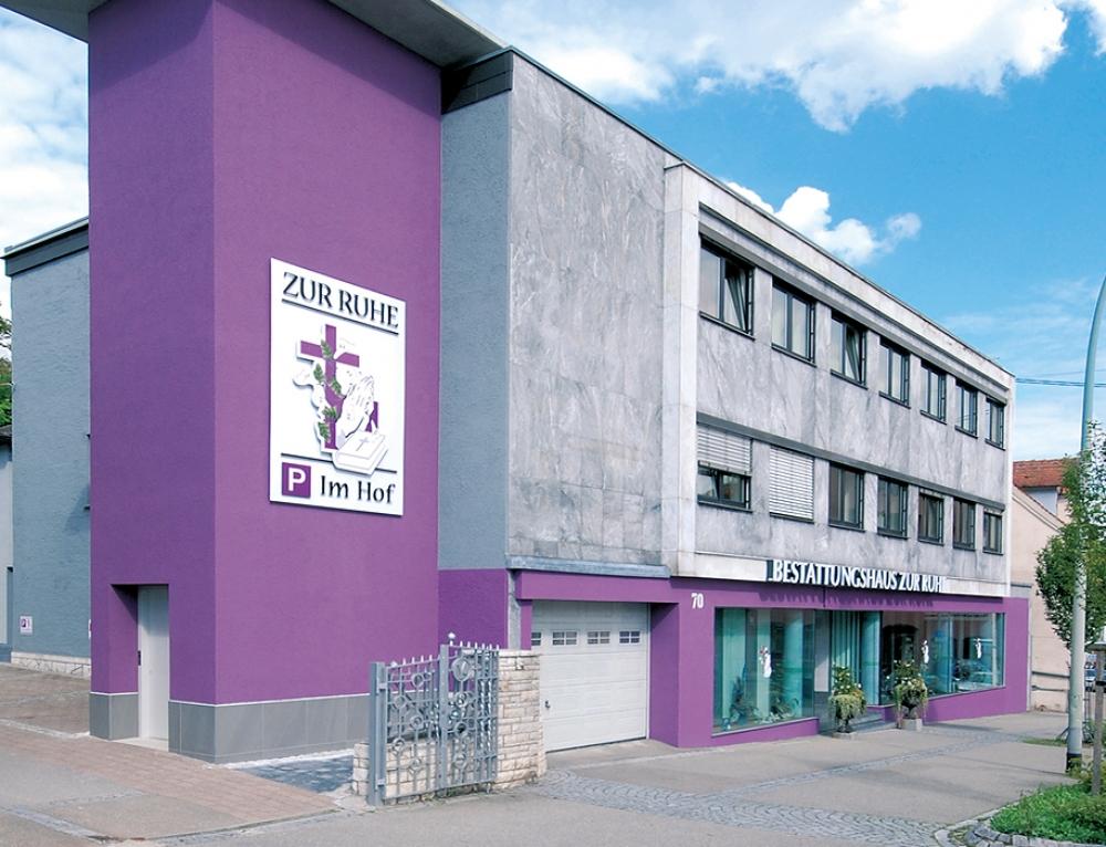 Referenz – Bestattungshaus ZUR-RUHE