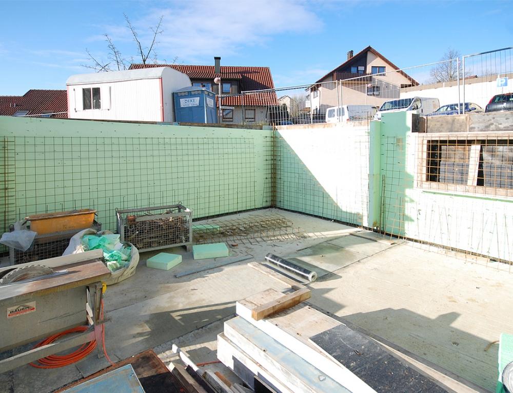 Referenz – Erweiterung Doppelhaushälfte Backnang