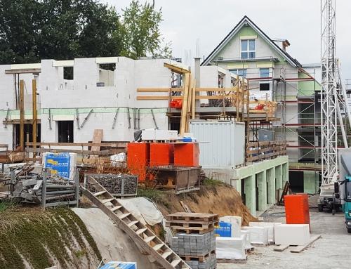 Baufortschritt KW40