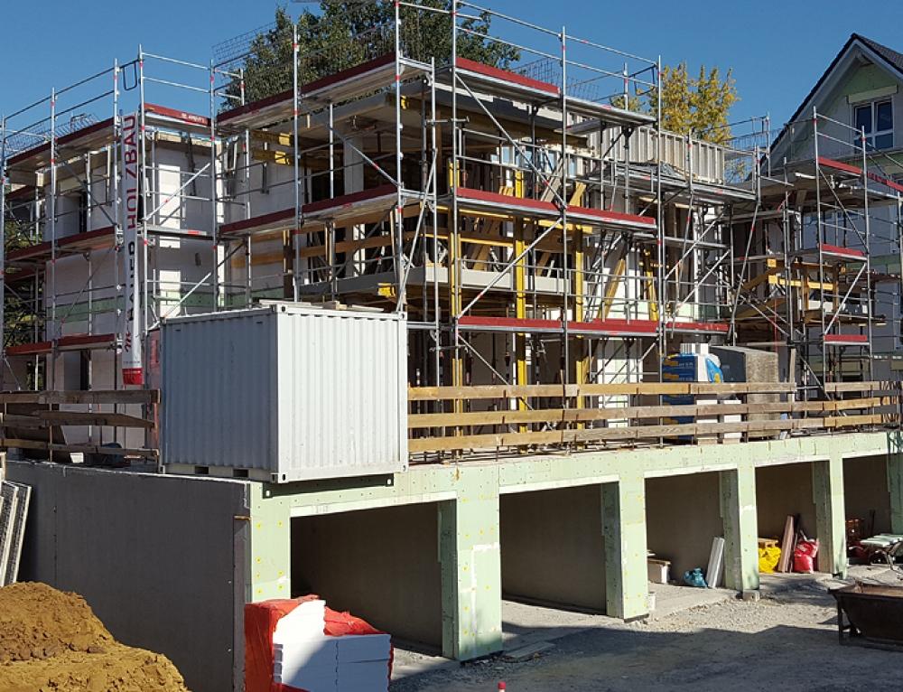 Baufortschritt KW42 – Haus 2