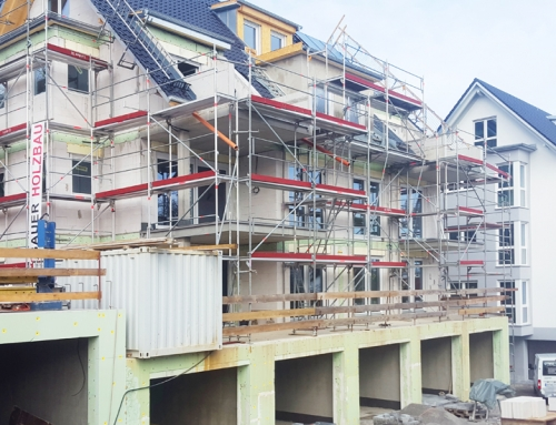 Baufortschritt KW11-2019